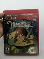 Ni No Kuni Wrath of the White Witch (Sony Playstation 3) complete in box
