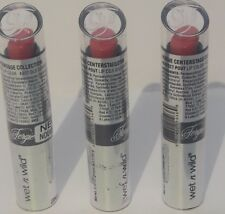 3X - WET N WILD FERGIE PERFECT POUT LIPSTICK - Old School Glam A037 - SEALED
