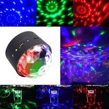 Disco DJ Glitter Balls Stage Projector Strobe Lighting Effects 7RGB Colors