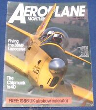 AEROPLANE MONTHLY JUNE 1986 - THE CHIPMUNK IS 40