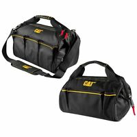 Cat 2 Piece Widemouth Tool Bag Set 13 in. and 16 in. 1200D Polyester - 240160