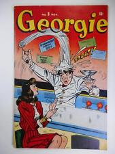 GEORGIE COMICS #8 F 6.0 (Q) (TIMELY 1945 SERIES)  GLOSSY  SODA JERK CLASSIC