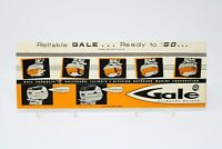 Gale Outboard Motors Match Book Large Giant Vintage Matchbook Cover RARE