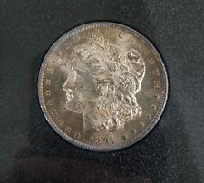 1891-CC GSA NGC MS63 TOP 100 Beautiful 2 Sided Toned Morgan Dollar RARE!!!