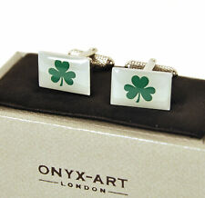 Cufflinks - Ireland - Irish Shamrock