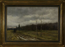 CHARLES KNIGHT (British) Antique Oil Painting 19 Century