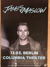 JAMES MASLOW  2017  BERLIN + orig.Concert Poster -- Konzert Plakat  A1 NEU