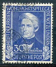 STAMP / TIMBRE GERMANY / ALLEMAGNE FEDERALE OBLITERE N° 6 COTE + 125 €