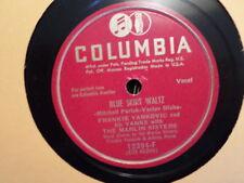 COLUMBIA 78 RECORD/FRANKIE YANKOVIC /CHARLIE WAS A BOXER/BLUE SKIRT WALTZ /EX+