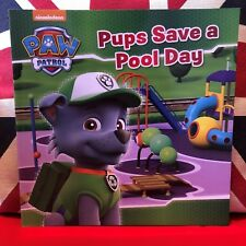Nickelodeon PAW Patrol Pups Save a Pool Day.  (Paperback, 2016). New Book