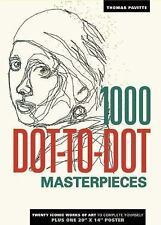 new & sealed 1000 Dot-To-Dot: Masterpieces by Thomas Pavitte CHRISTMAS GIFT