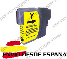 1 CARTUCHO COMPATIBLE AMARILLO NonOem BROTHER LC980 LC1100 MFC-490CW MFC490CW