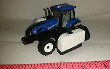 1/64 ERTL custom farm toy new holland t8.410 row track tractor side quest tanks