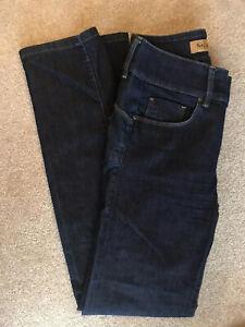 Salsa Sculpture Dark Indigo Jeans W 28 L32 Worn once!