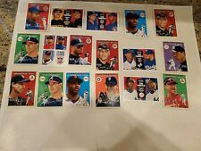 2000 Fleer Tradition Baseball Lot of 34 Cards Only Stars and Rookies NM/MT