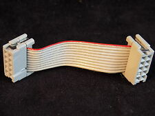 Flat Ribbon Cable 2 inches with 2 female connectors 3m 3473 10 Pin Nice!