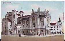 Germany AK Halberstadt - Theater old postcard