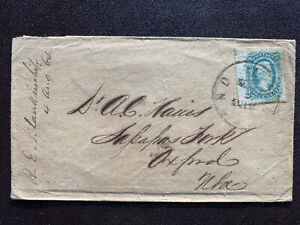 Confederate States Scott 11-a7, on cover good condition