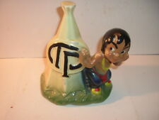 1946 Thompson Products TP Indian with TeePee Pottery Bank