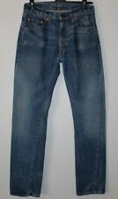 Levi's Big E 505 Scovill Selvedge Made in USA Jeans Size 32-34