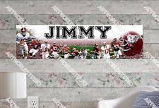 Personalized/Customized Alabama Crimson Tide Name Poster Wall Art Banner