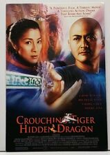 Chow Yun Fat, Michelle Yeoh in CROUCHING TIGER HIDDEN DRAGON Poster Postcard G20