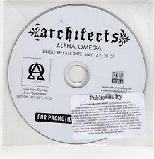 (GI251) Architects, Alpha Omega - 2012 DJ CD