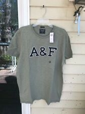 NWT Mens Abercrombie & Fitch OLIVE Short Sleeve T-Shirt SIZE XL