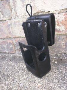 Motorola APX6000 3.5 Hard Leather Two Way Radio Case Holder Holster US Made
