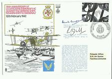35th Anni Scharnhorst & Gneisenau 1977 Signed Adm Empson, Lt Cmdr Kingsmill DSO