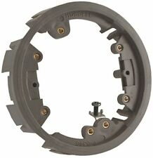 Hubbell 3553631 Raco Adapter Ring For Floor Outlet Box, Non-Metallic, Gray