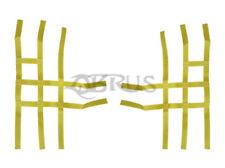 QBRUS Yellow Standard Nerf Bar Webbing to fit Suzuki LTR450 Quad Bike Parts