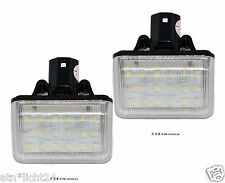 LED 2x 18smd MAZDA 6 cx7 ILLUMINAZIONE TARGA TARGA CAN-BUS 6000k Set
