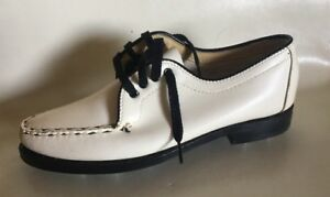 Vintage Women's Golf Shoes 6 BOX The Taylor-Made Sam Snead Leather B&W LPGA NOS