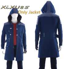 Game Devil May Cry 5 Nero Cosplay Jacket Only Coat Costume Halloween Custom Made