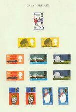 Mint Hinged Technology British Elizabeth II Stamps