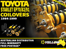 YELLOW-SPEED RACING COILOVERS Toyota Starlet EP70/82/91 84-99 yellowspeed
