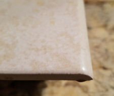 "1 Pc Ceramic Floor Wall Tile 4 3/8"" Florida Tile Gold Nugget Square w/ Bullnose"