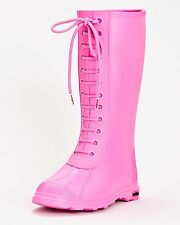 NIB NATIVE PADDINGTON WOMEN BOOTS SIZE 6 $80 hollywood pink rain boots
