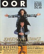 MAGAZINE OOR 1998 nr. 04 - BOB DYLAN / MADONNA / SKIK & DE KAST / ALL SAINTS