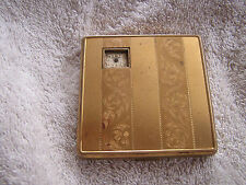 Vintage Illinois Watch Case Co. Compact with Weldwood Watch