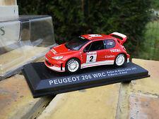 IXO / ALTAYA PEUGEOT 206 WRC Rallye Monte Carlo 2003 Neuve en boite