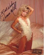 DONNA MILLS Signed SEXY VINTAGE POSE Photo w/ Hologram COA