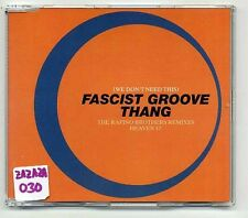 Heaven 17 Maxi-CD Fascist Groove Thang The Rapino Brothers Remixes - 5-track
