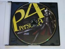 Shin Megami Tensei P 4 Persona IV Side A Soundtrack CD Anime Video Game Atlus