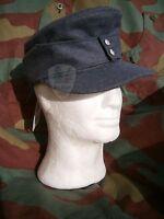 Feldmutze M43 cappello tedesco, German WW2 air field cap, Erel felddivision