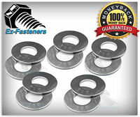 316 Stainless Steel Flat Washer 1/4 ID, Qty 250 pcs Pack
