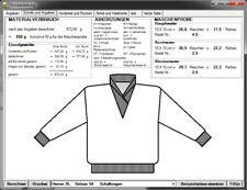Strickrechner - Strickanleitung am PC erstellen für Handstrick + Strickmaschine