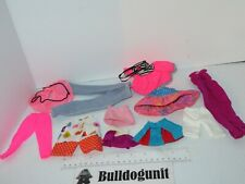 Lot Assorted Vintage 80's Barbie Doll Bottoms Skirt Pants Clothes Accessories