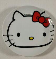 Hello Kitty Plate Collectible Ceramic Lawson Sanrio 6.5 Inches